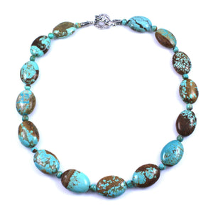 Pam Springall-Sorrel Sky Gallery-Jewelry-#8 Turquoise Necklace