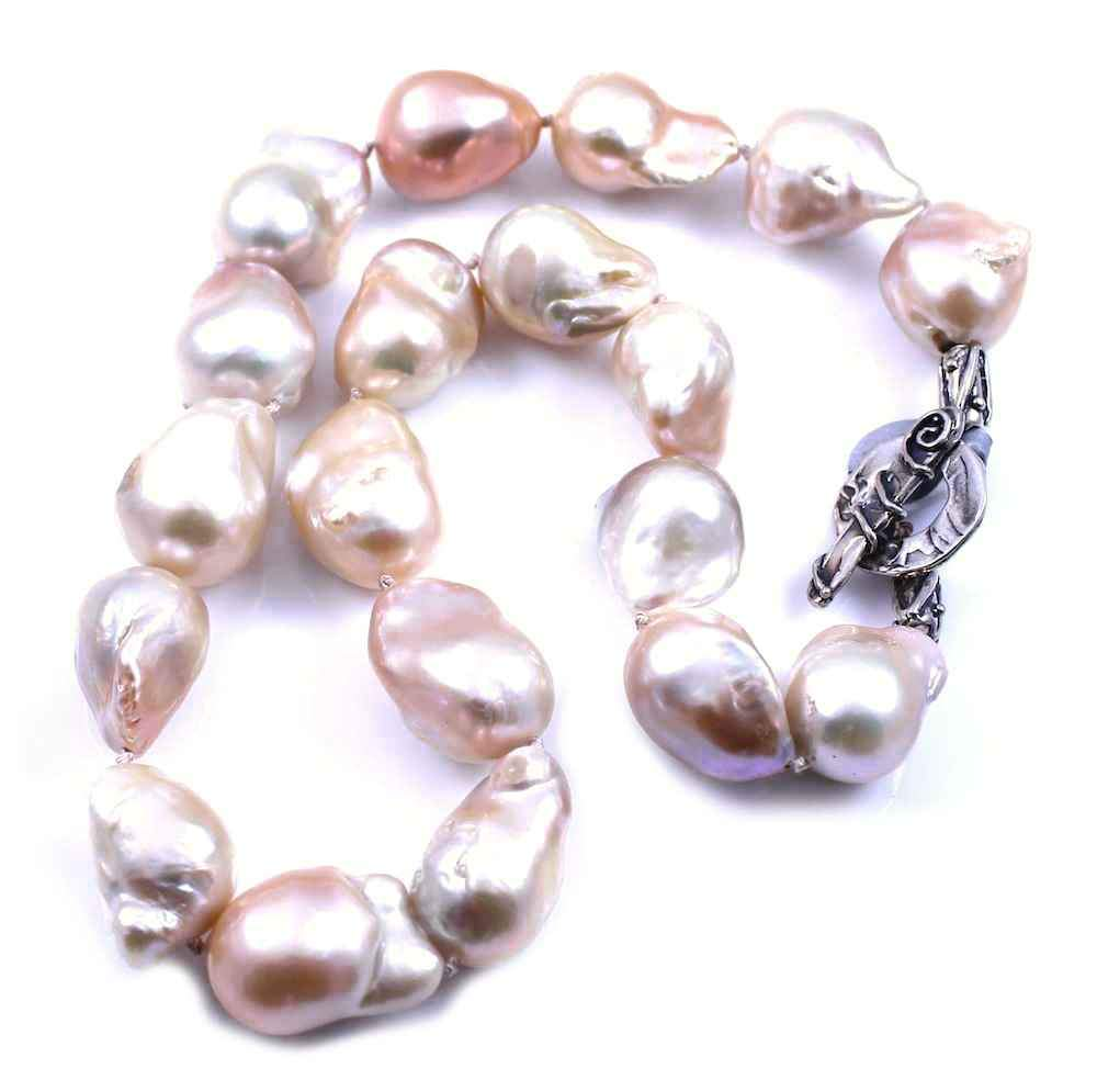 Pam Springall-Sorrel Sky Gallery-Jewelry-Baroque Pearl Necklace