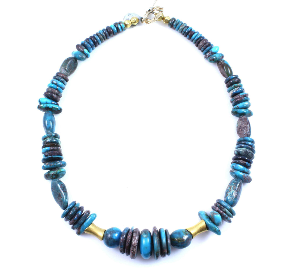 Pam Springall-Sorrel Sky Gallery-Jewelry-Bisbee Gold Necklace