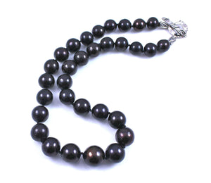 Pam Springall-Sorrel Sky Gallery-Jewelry-Chinese Black Pearl Necklace