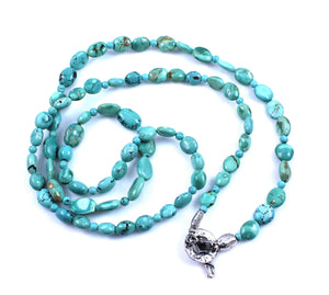 Pam Springall-Sorrel Sky Gallery-Jewelry-Chinese Turquoise Necklace
