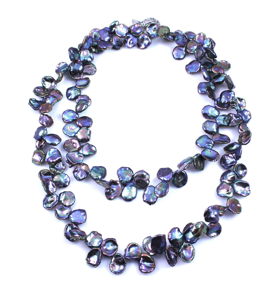 Pam Springall-Sorrel Sky Gallery-Jewelry-Keshi Pearl Necklace