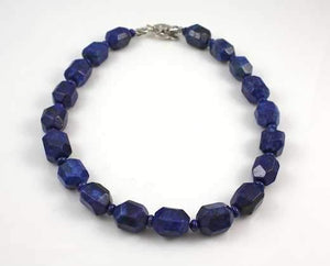 Pam Springall-Sorrel Sky Gallery-Jewelry-Lapis Chunk Necklace