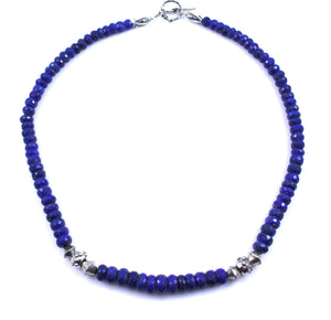 Pam Springall-Sorrel Sky Gallery-Jewelry-Lapis Necklace