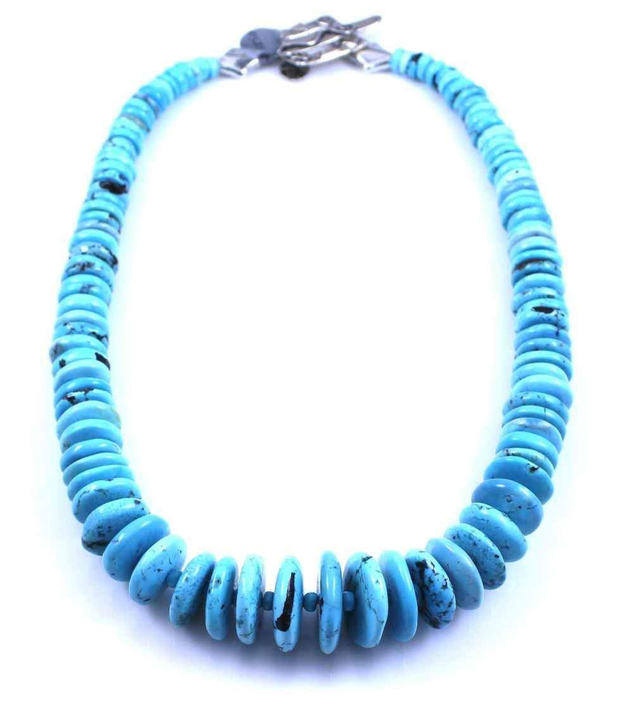 Pam Springall-Sorrel Sky Gallery-Jewelry-Maanshan Turquoise Necklace