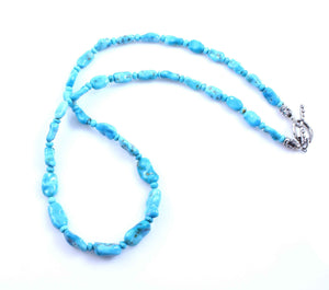 Pam Springall-Sorrel Sky Gallery-Jewelry-Morenci Turquoise Necklace