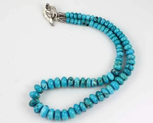 Pam Springall-Sorrel Sky Gallery-Jewelry-Nacozari Turquoise Necklace