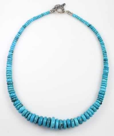 Pam Springall-Sorrel Sky Gallery-Jewelry-Nacuzari Turquoise Necklace