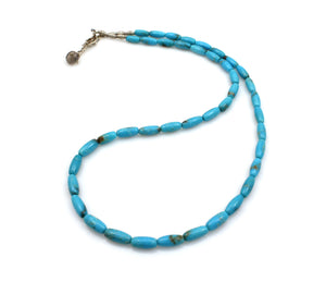 Nakozari Turquoise Rice Necklace-Jewelry-Pam Springall-Sorrel Sky Gallery