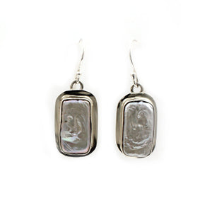 Pearl Drop Earrings-Jewelry-Pam Springall-Sorrel Sky Gallery