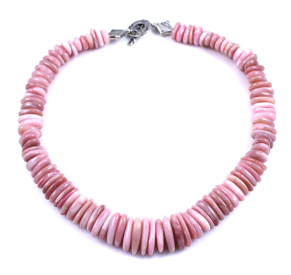 Pam Springall-Sorrel Sky Gallery-Jewelry-Peruvian Pink Opal Necklace