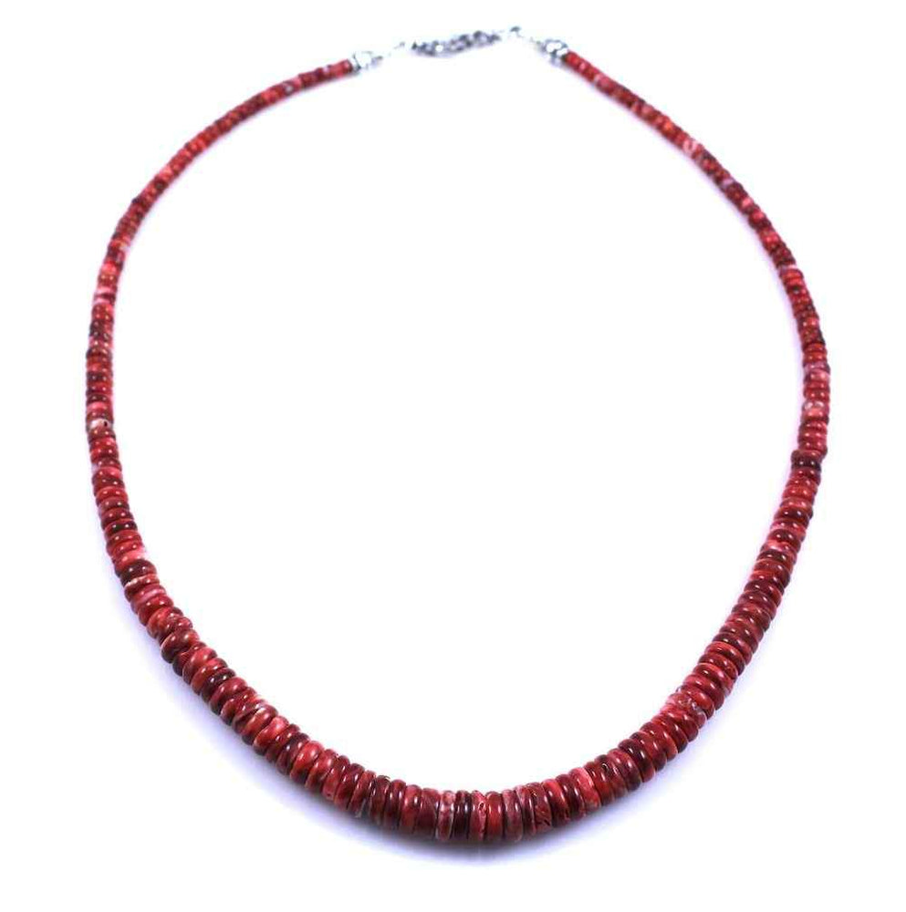 Pam Springall-Sorrel Sky Gallery-Jewelry-Red Spiny Oyster Necklace
