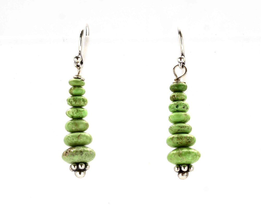 Stacked Gaspeite Earrings