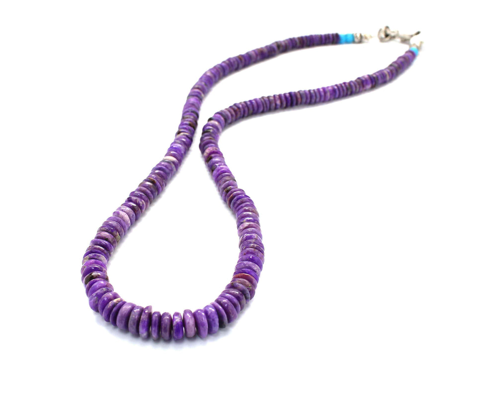 Sugilite Roundell Necklace