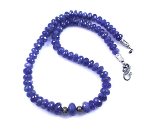 Pam Springall-Sorrel Sky Gallery-Jewelry-Tanzanite Necklace