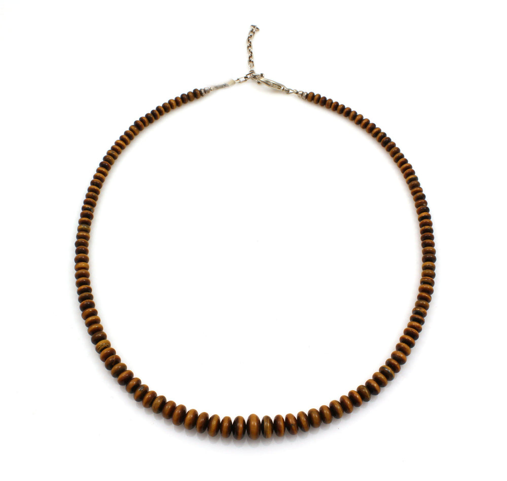 Tiger Eye Roundell Necklace