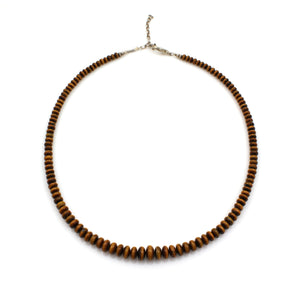 Tiger Eye Roundell Necklace-Jewelry-Pam Springall-Sorrel Sky Gallery