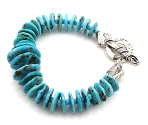 Turquoise Bracelet-Jewelry-Pam Springall-Sorrel Sky Gallery