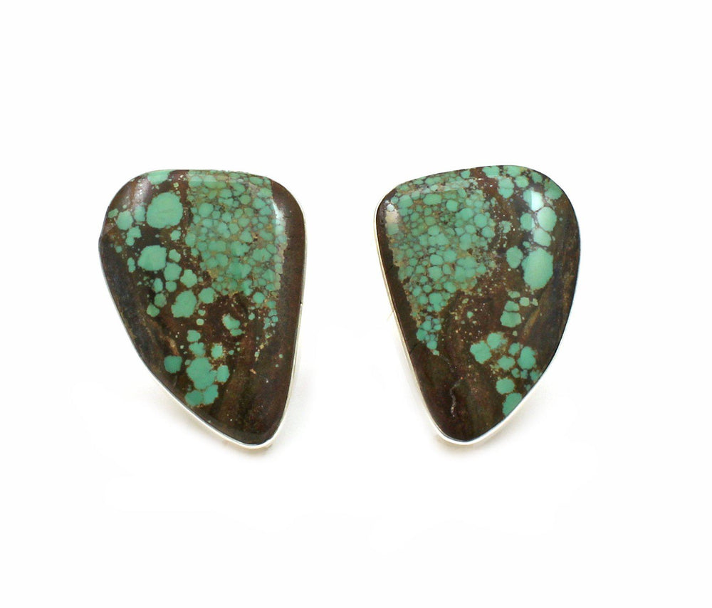 Turquoise Clip On Earrings-Jewelry-Pam Springall-Sorrel Sky Gallery