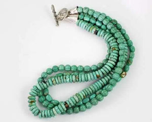 Pam Springall-Sorrel Sky Gallery-Jewelry-Turquoise Necklace
