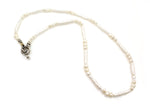 White Single Strand Pearl Necklace