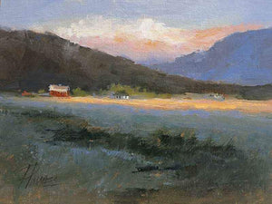 Peggy Immel-Approaching Sundown-Sorrel Sky Gallery-Painting