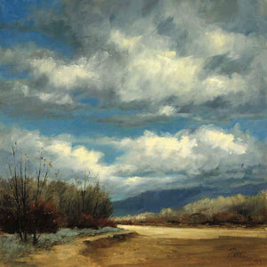Peggy Immel-Arroyo Seco Cloud Show-Sorrel Sky Gallery-Painting