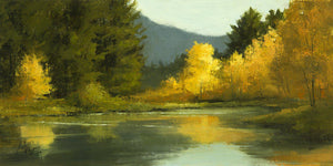 Aspens Reflected-Painting-Peggy Immel-Sorrel Sky Gallery