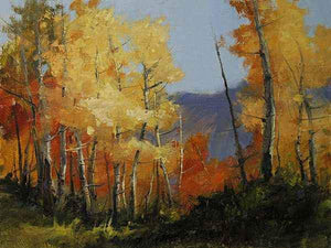 Peggy Immel-Autumn Dance-Sorrel Sky Gallery-Painting