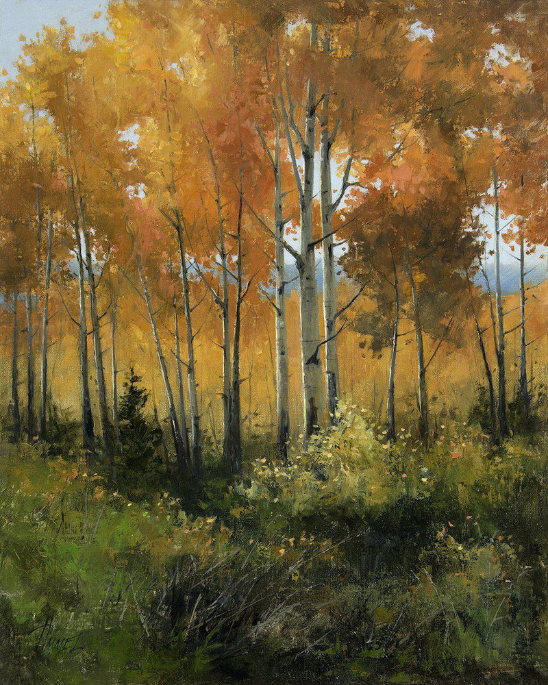 Autumn Regalia-Painting-Peggy Immel-Sorrel Sky Gallery