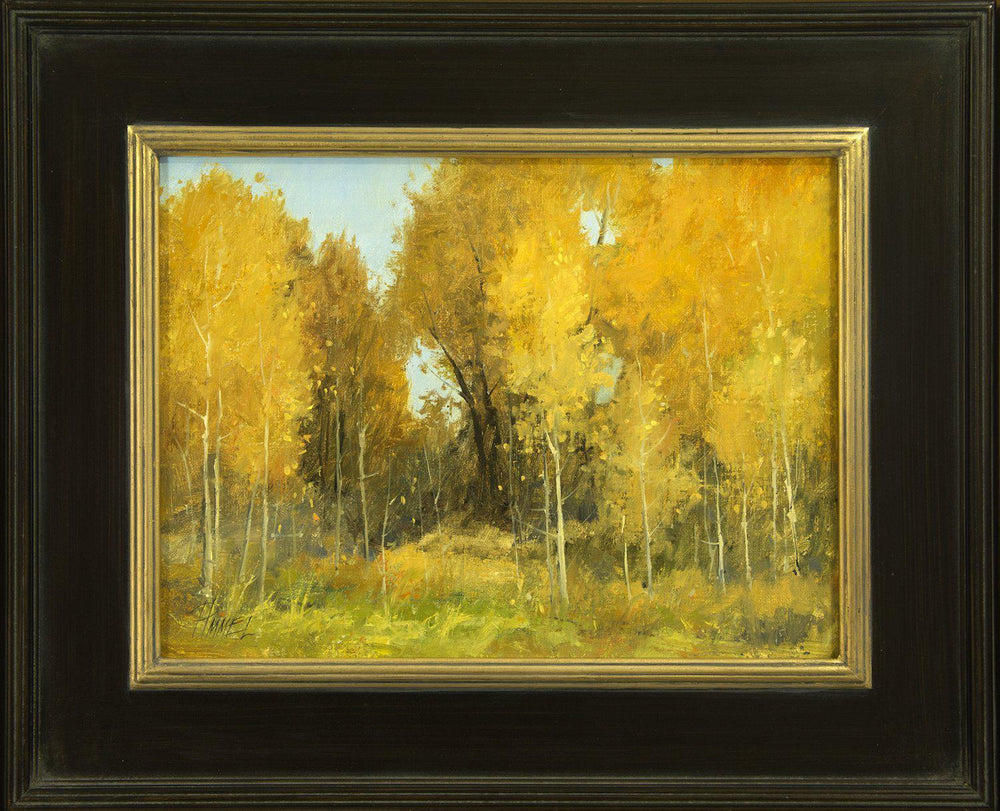 Autumn Theatrics-Painting-Peggy Immel-Sorrel Sky Gallery