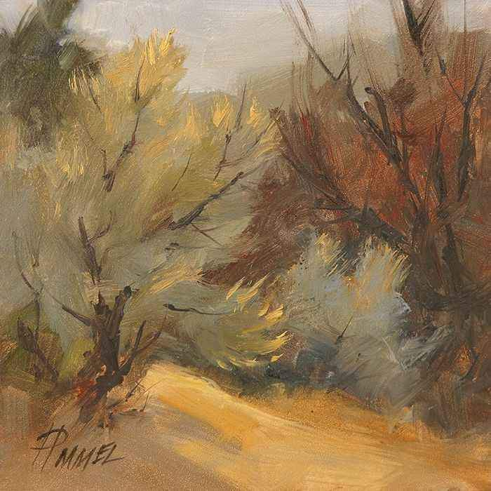 Peggy Immel-Brush and Sage-Sorrel Sky Gallery-Painting