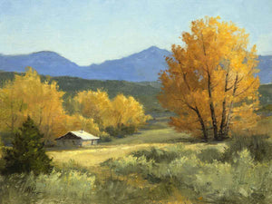Peggy Immel-Down in the Valley-Sorrel Sky Gallery-Painting