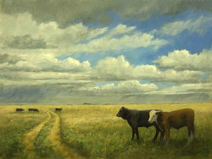 Peggy Immel-Eastern Plains-Sorrel Sky Gallery-Painting