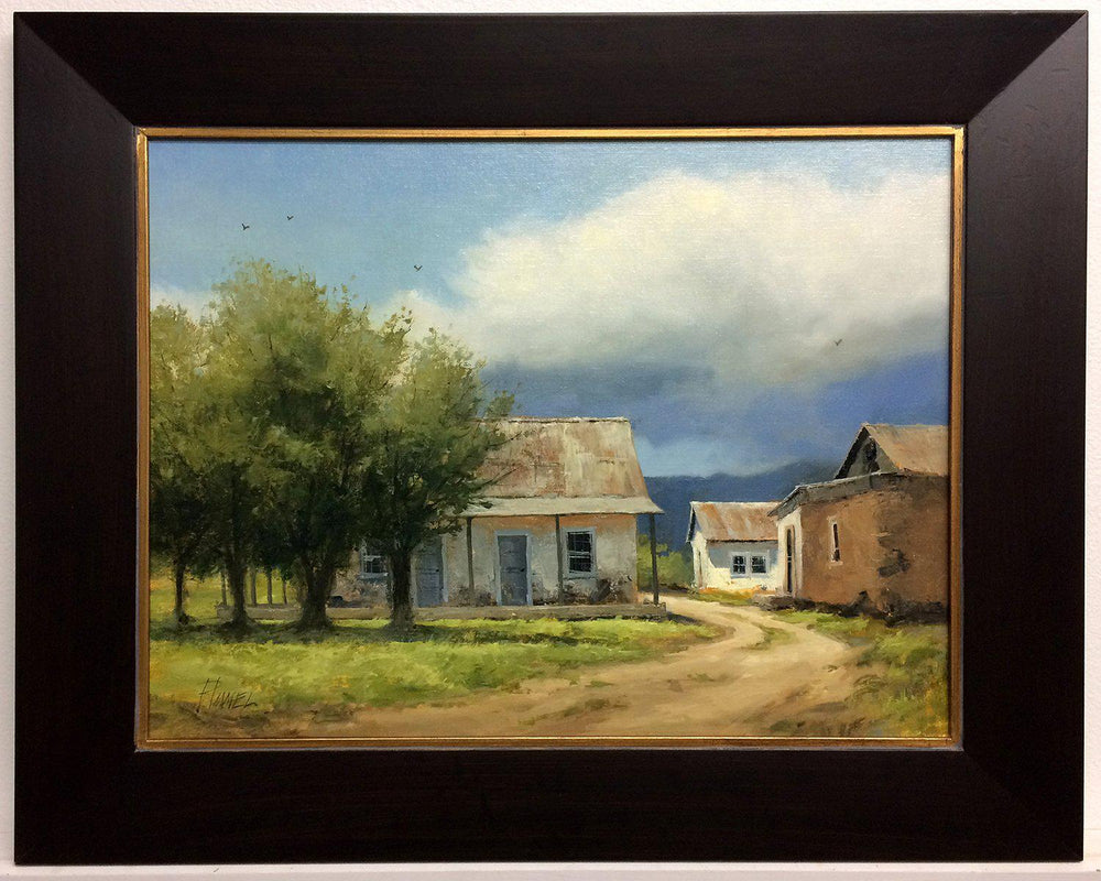 Front Range Homestead-Painting-Peggy Immel-Sorrel Sky Gallery
