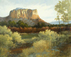 Peggy Immel-Ghost Ranch Oasis-Sorrel Sky Gallery-Painting