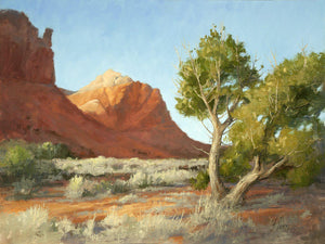 Peggy Immel-Ghost Ranch Red And Green-Sorrel Sky Gallery-Painting