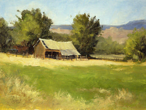 Green Acres-Painting-Peggy Immel-Sorrel Sky Gallery
