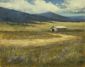 Peggy Immel-High Country Rangeland-Sorrel Sky Gallery-Painting
