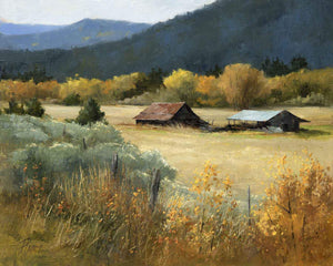Peggy Immel-High Road Barns-Sorrel Sky Gallery-Painting