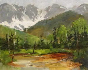 Peggy Immel-High Valley-Sorrel Sky Gallery-Painting