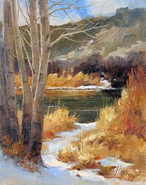 Peggy Immel-In Winter-Sorrel Sky Gallery-Painting