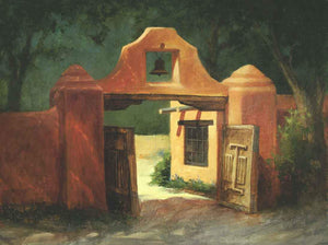 Peggy Immel-Inside Looking Outside, Mabel's Gate-Sorrel Sky Gallery-Painting
