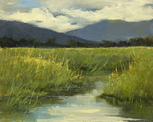 Peggy Immel-Marshland-Sorrel Sky Gallery-Painting