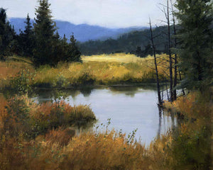 Peggy Immel-Morning Calm-Sorrel Sky Gallery-Painting