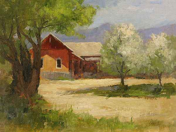 Peggy Immel-Overland Adobe-Sorrel Sky Gallery-Painting
