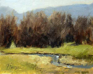 Peggy Immel-Pacheco Ditch-Sorrel Sky Gallery-Painting