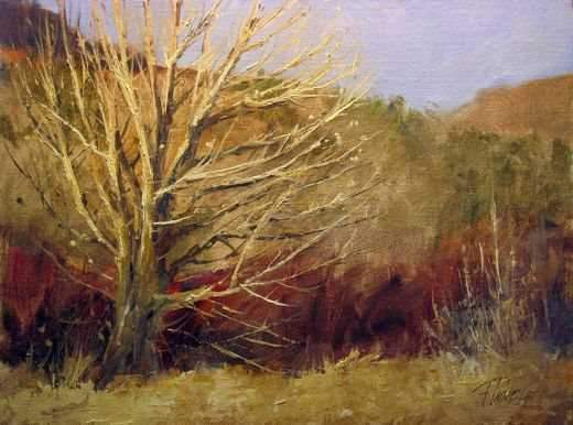 Peggy Immel-Rio Grande Cottonwood-Sorrel Sky Gallery-Painting