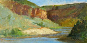 Peggy Immel-Rio Grande Waters-Sorrel Sky Gallery-Painting