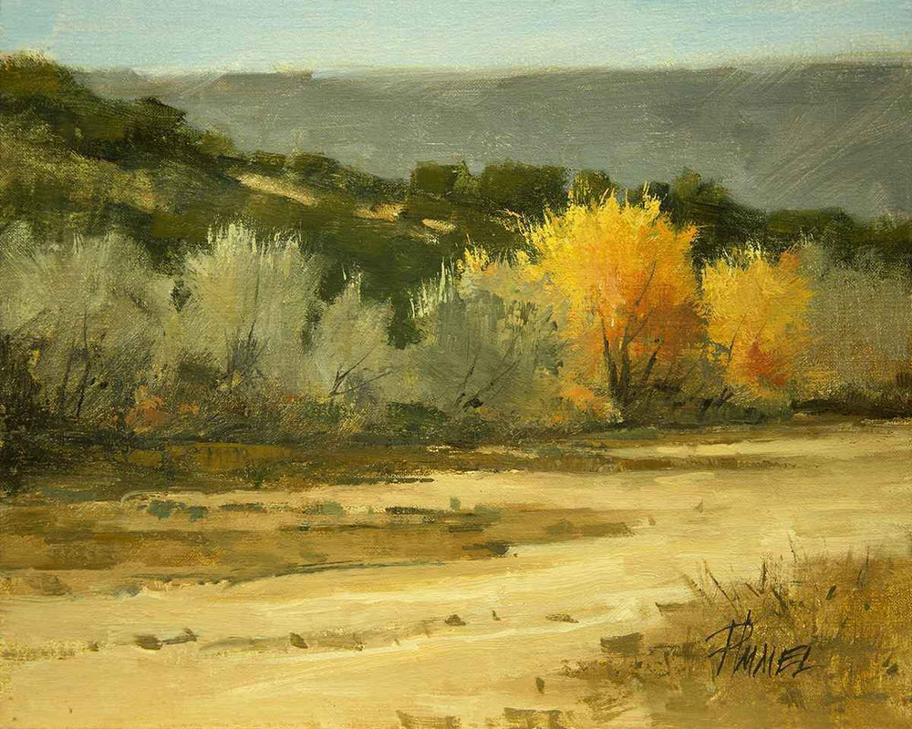 Peggy Immel-Showy Cottonwoods-Sorrel Sky Gallery-Painting